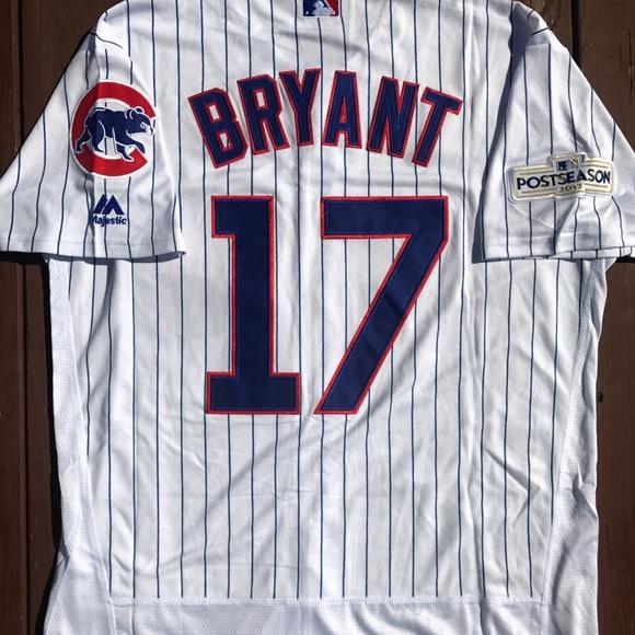 1df5f63a33d Men s Kris Bryant Chicago Cubs Home Jersey (M)